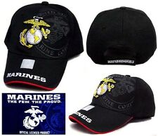 US Marines Licensed Military Baseball Caps Embroidered 1 Pc  6 Pc Lot ( E7507M1)