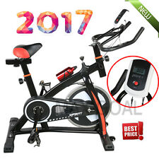 2017 NEWEST  Exercise Bike Cycling Fitness Bicycle Stationary Cardio Indoor LOT