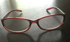Reading Glasses Red with Crystals and Flower Motif  Moraleyes 1 50, 3 00