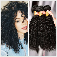 Curly Weave Peruvian Virgin Hair Kinky Curly Human Hair Extension 3 Bundles 300g