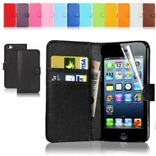 New Wallet Flip PU Leather Phone Case Cover For iPhone Samsung