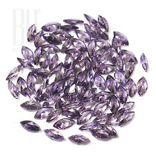 Amethyst Color Cubic Zirconia AAA Quality Calibrated Marquise Shape gemstones