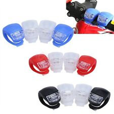 4 LED Bicycle Cycling Bike Silicone Frog Safety Front Warning Lamps Tail Light