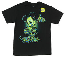 "Disney Little Boys Mickey Mouse X-Ray ""Glow In The Dark"" T-Shirt"