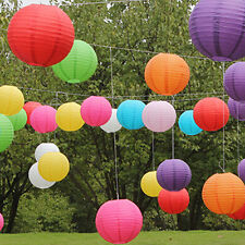 "Wedding Party Engagement Decoration Round Chinese Paper Lantern 8"" - 12"" Finest"