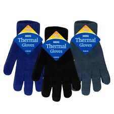 Mens Thermal Gloves Magic Winter Work One Size Fits All Driving Snow Ski New