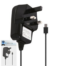 3 Pin 1000 mAh UK MicroUSB Wall Mains Charger for BlackBerry 9800 9810 Torch