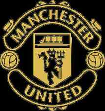 MANCHESTER UNITED WALL ART BADGE,BEDROOM,PLAYROOM,OFFICE DECAL,3 SIZES