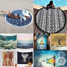 Indian Mandala Wall Hanging Tapestry Hippie Bohemian Bedspread Throw Beach Decor