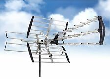 180MileS HDTV 1080p Outdoor Amplified Antenna Directional Digital UHF/VHF/FM LOT