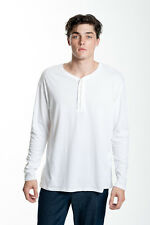 CATCH SURF 'ERNEST L/S HENLEY - NATURAL WHITE' MENS SHIRT XL X LARGE BRAND NEW