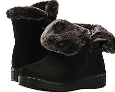Women's PATRIZIA by SPRING STEP Lined Winter Boots Zipper BLACK