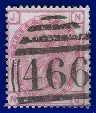 1873 SG144 3d Pale Rose Plate 12 NJ Good Used with a Liverpool 466 cancellation