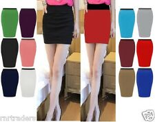 New Womens Girl Short Bodycon Skirt Ladies Panel Stretch Mini Party Skirt-min wg