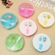 Student Portable Lunch Storage Box Plastic Bento Box Food Container