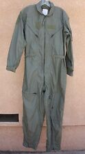 US Military Sage Green Nomex Summer Flyers Coveralls Flight Suit CWU-27/P