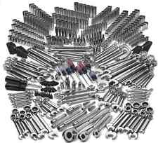 Auto Mechanics Tool Set 500 Piece Tool Set Heavy Duty Pro SAE Metric Ratchet New