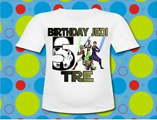 Personalized Jedi Star Wars T Shirt All Sizes Star War Jedi Personalzied Shirt