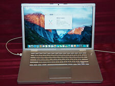 "Mid 2007 Apple Macbook Pro 15"" Laptop - 2.2 GHz/2GB/160 GB HD/SD/Backlit KB 1A"