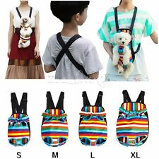 New Pet Dog Puppy Cat Cotton Backpack Comfort Front Tote Carrier Travel Net Bag