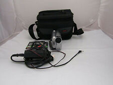 Canon Digital DVD Camcorder DC-210 35x Optical Zoom Bundle W/Power Adapter