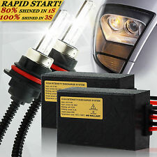 QUICK START XENON HID CONVERSION BALLAST KIT H1 H4-3 H7 H11 9005 9006 9007 H13