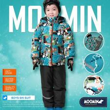 Moomins Child Boys Snow Ski Suit Winter Outerwear Jacket and Trousers Waterproof