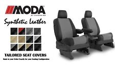 Coverking Synthetic Leather Front Seat Covers for Fiat 500 in Leatherette