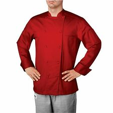 Chefwear 5005-120 Five Star Traditional Organic Chef Jacket, Chile XS-5XL New!