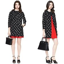 Kate Spade Fashion Kendall Trench Coat Bow Polka Dots Size S BNWT $628