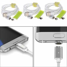 WSKEN Mini 2 Magnetic 8 Pin & Micro USB Charge Cable Adapter For iPhone Samsung