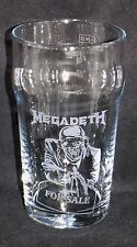 """New Etched """"MEGADETH PINT GLASS"""" - Unique Gift With or Without Gift Box"""