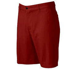 NWT Dockers Classic-Fit Solid Red Flat-Front Shorts Men Sizes 40, 42, 44