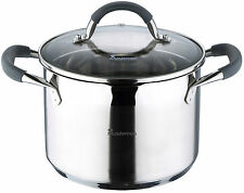 Bergner Masterpro 18/10 Stainless Steel Pans FULL INDUCTION with Strainer