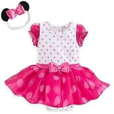 Disney Minnie Mouse Pink Costume Bodysuit Set for Baby