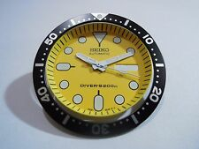 NEW SEIKO REPLACEMENT YELLOW DIAL/HANDS/INSERT FOR SEIKO 7S26-0020 DIVER'S WATCH