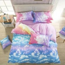5 colors fashion style queen/full/twin size bed linen set bedding set sale bedcl