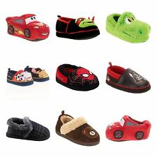 New Boys Slippers Paw patrol Dino Spiderman TMNT Cars 5-6 7-8 9-10-11-13-13-1
