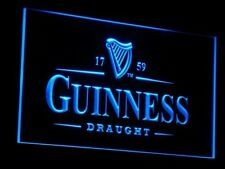Guinness Vintage Beer Bar LED Neon Light Sign On/ Off Switch 7 colors
