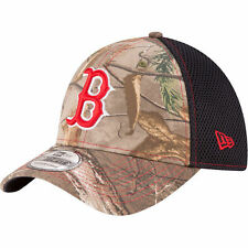 Boston Red Sox New Era Neo 39THIRTY Stretch Flex Mesh Back Cap Camo Hat