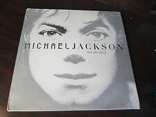 MICHAEL JACKSON Invincible LP Record DOUBLE ALBUM promo