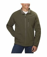 Kirkland Signature Men's 4 Way Stretch Soft Shell Jacket Weatherproof Olive XXL