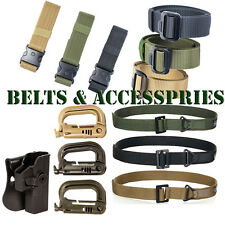 10 pcs MOLLE Grimloc Locking D-Ring Hunting Tactical Belts Holster Accessories