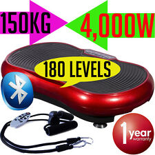 3500W Vibrating Plate Round Standing Exercise Abs Gym Machine Equipment Workout