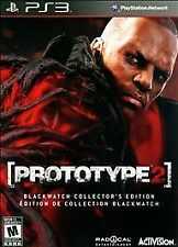 Prototype 2: Blackwatch Collector's Edition Exclusive Playstation 3 PS3 NEW