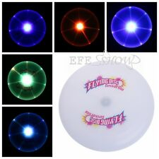 Flying LED Disk Light Up Frisbee Outdoor Toys Pet Supplies Fun New Frisbee