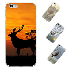 Sika Deer 3D Print Phone Case Cover for iPhone 5 6S 7 Plus Samsung Galaxy Sturdy