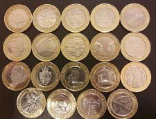 £2 various two pound coins uk coin hunt rare collectors