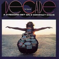 Decade by Neil Young (CD, Mar-2003, 2 Discs, Warner Bros.) ORIGINAL ISSUE