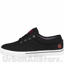 Mens Etnies Trainers Jameson Black White Lace Up Skate Casual Shoes